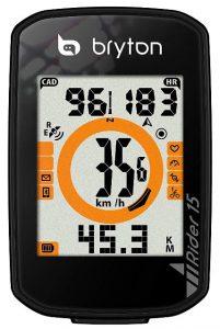 Bryton Rider 15-gps bicicleta