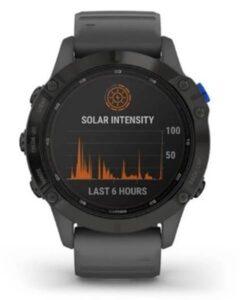garmin fenix 6 pro solar-relojes para senderismo