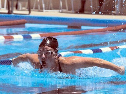 reloj y pulseras natación