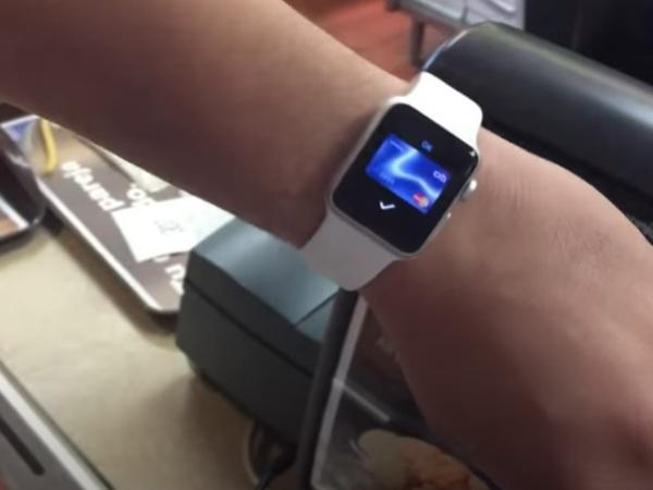 relojes inteligentes con NFC-apple watch