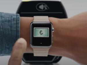 relojes inteligentes con NFC-apple
