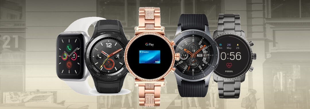 smartwatch con sistema de pago NFC