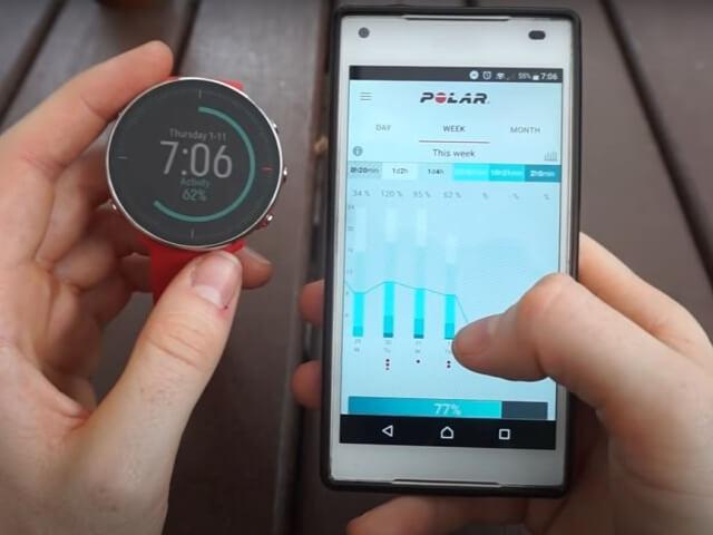 Polar Vantage M-app