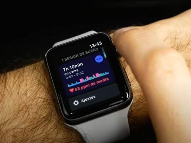 apple watch-monitor de sueño