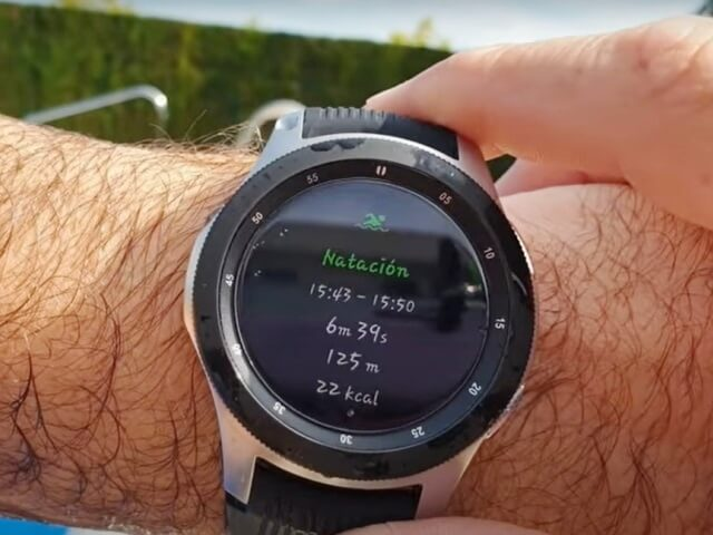 reloj resistente al agua-galaxy watch2