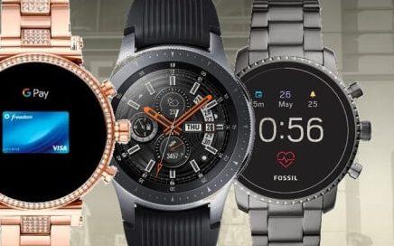 smartwatch con sistema de pago